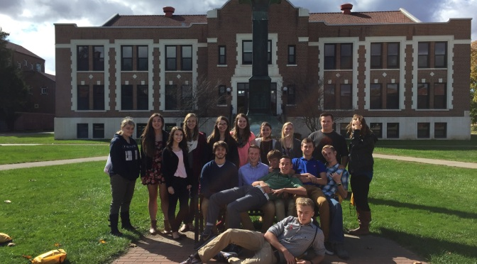 EHS Journalism Enjoys a Sunny Day at Saint Bonaventure University's Annual Comm Day
