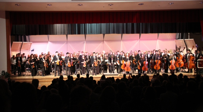 PMEA Festivals Start on a High Note for EHS Students