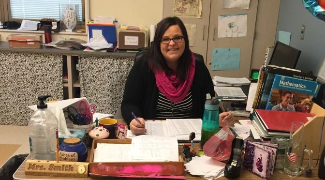 EHS math teacher, Mrs. Smith.