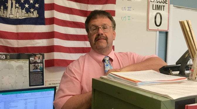 The Teacher Spotlight Shines on Mike Logue