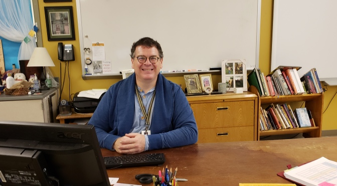 Teacher Spotlight Shines on Mr. Pollard