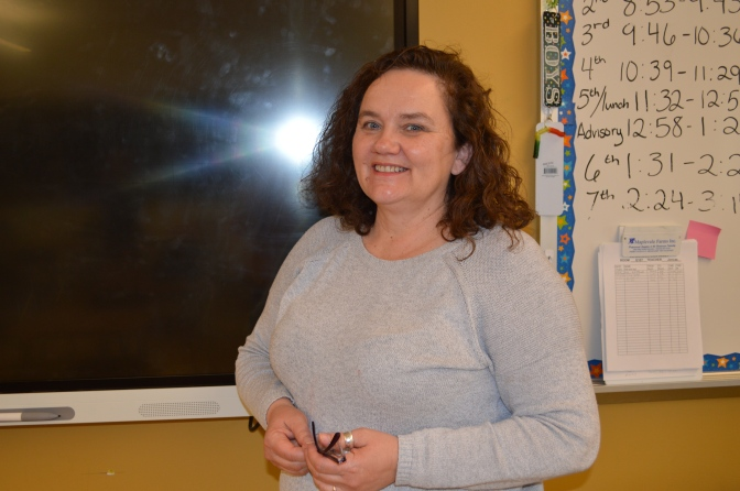 The Spring Spotlight Shines on Mrs. Joncas