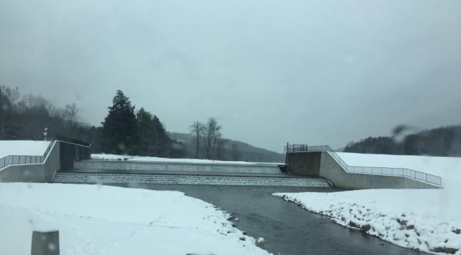 Sledding into the Chapman Dam Winterfest