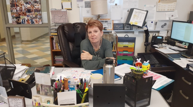 TheTeacherSpotlightShines                          on Mrs. Ludwig