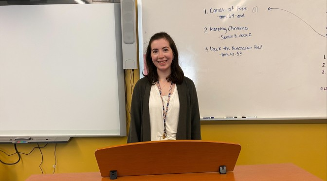 Teacher Spotlight Shines on Ms. Chevillard